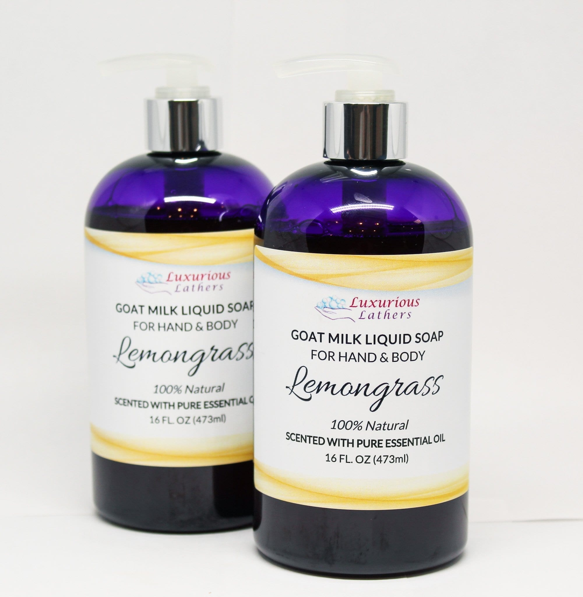 Lemongrass Goat Milk Liquid Soap