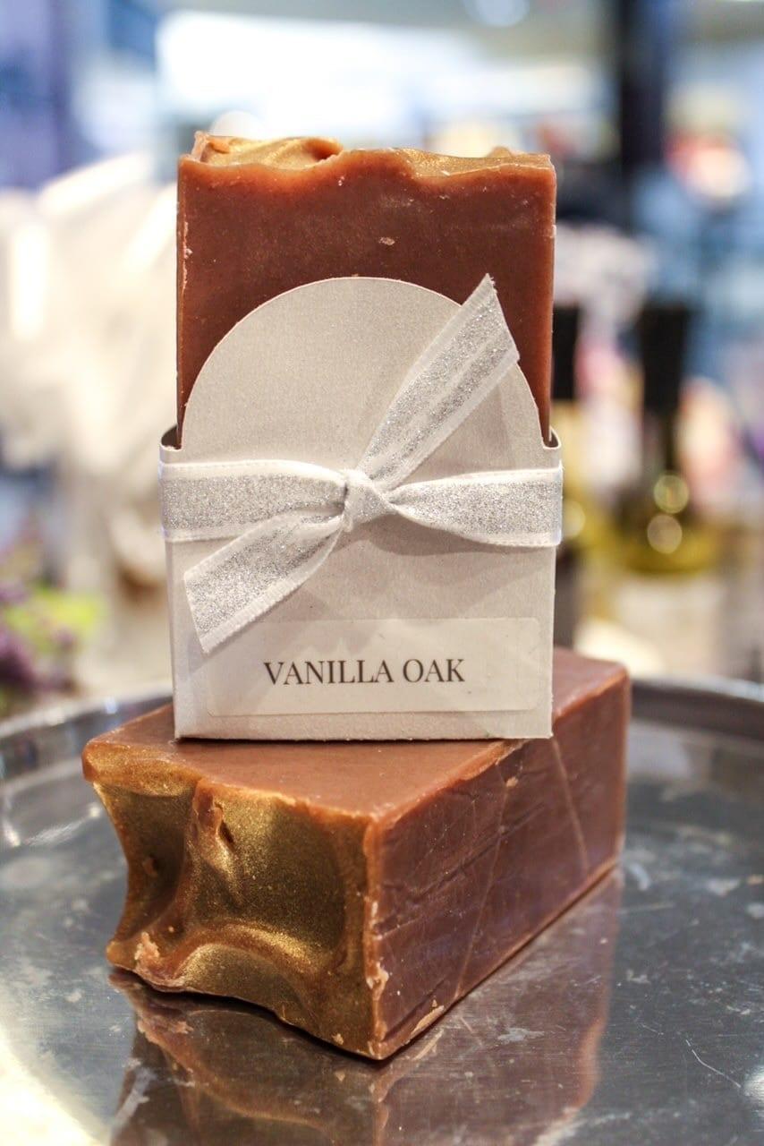Vanilla Oak Goat Milk Soap