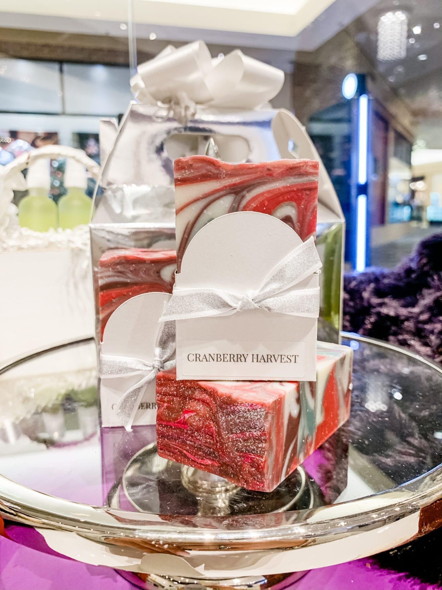 Cranberry Harvest Vegan Soap