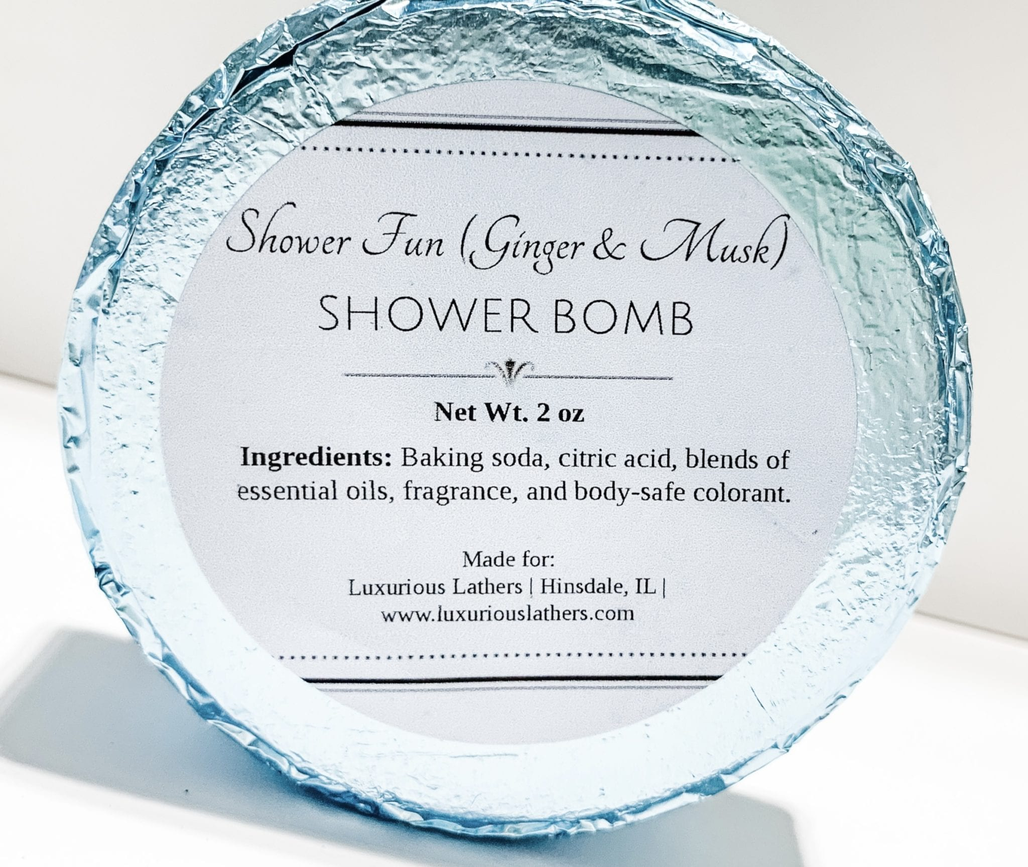 Ginger & Musk Shower Steamer
