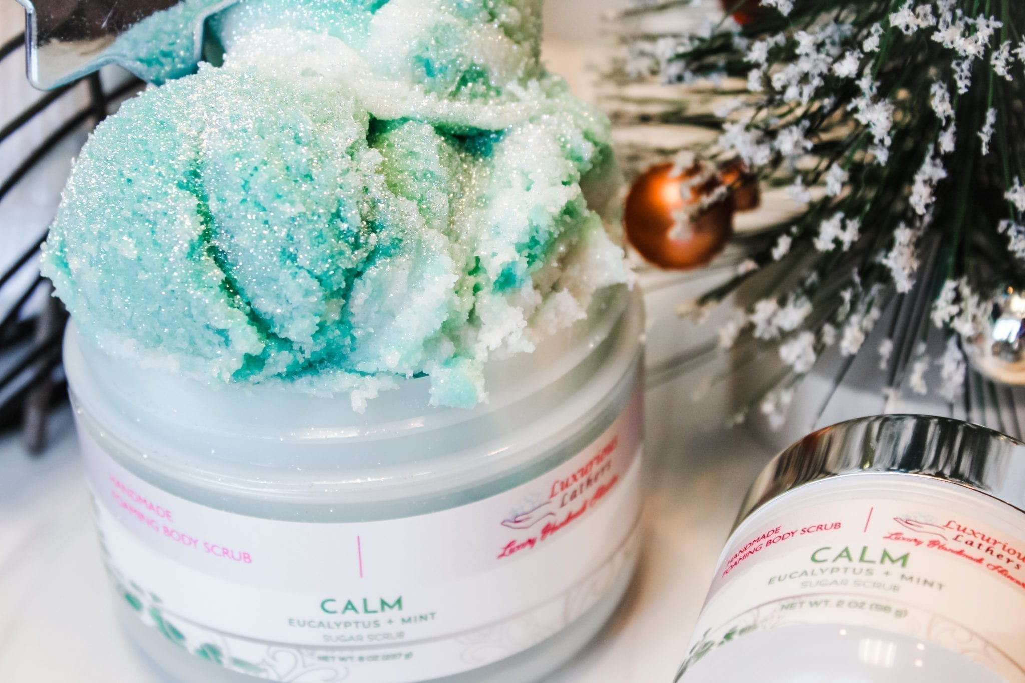 Calm Foaming Sugar Scrub